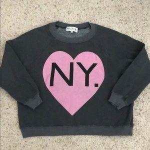 Wildfox NY CA sweatshirt